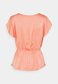 River Island - KUNIS COWL - Blouse - coral - 1
