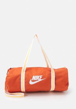HERITAGE UNISEX - Sports bag - light sienna/light sienna/white