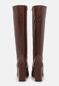 Bianca Di - High heeled boots - choco - 3