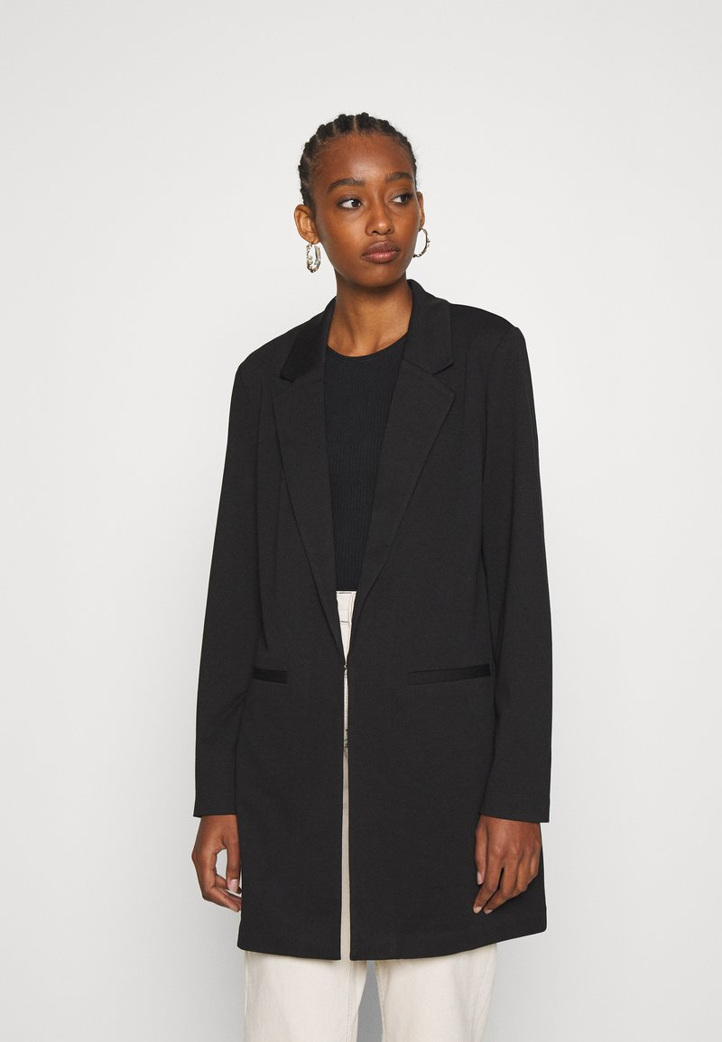 Vero Moda - VMCHLOE LONG BOO - Short coat - black