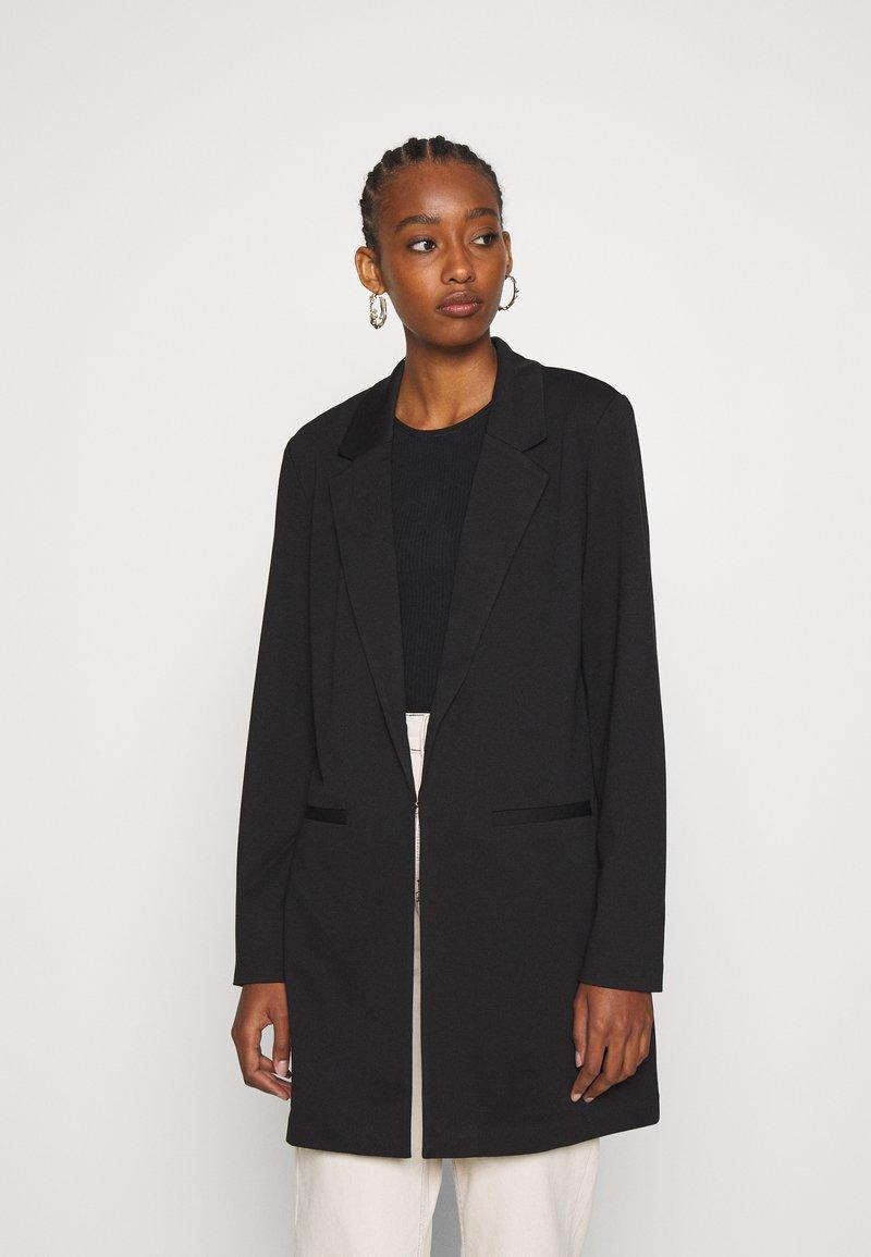 Vero Moda - VMCHLOE LONG BOO - Krátký kabát - black
