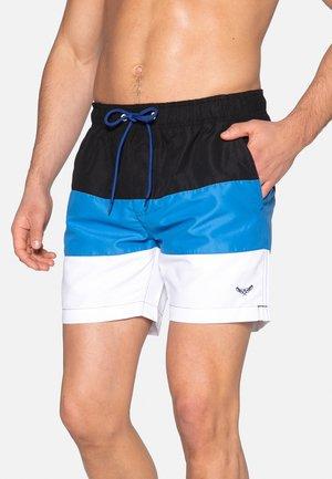 MAJORCA - Badeshorts - white/blue/black