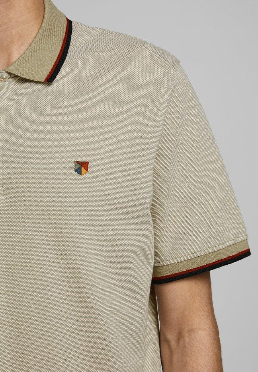 Jack & Jones JPRBLUWIN - Polo shirt - crockery QBPhT
