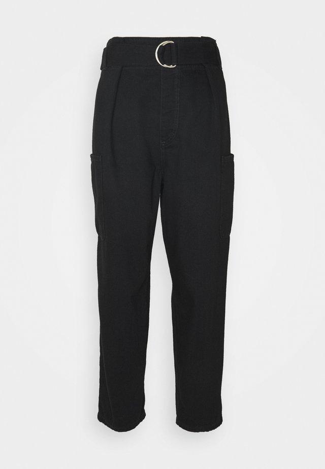 SLFDORA - Jeans baggy - black denim