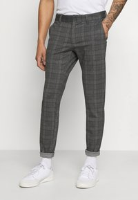 Only & Sons - ONSMARK PANT - Trousers - dark grey melange - 0