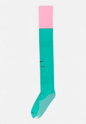 FCB STAD SOCK UNISEX - Knee high socks - new green/pink beam/black