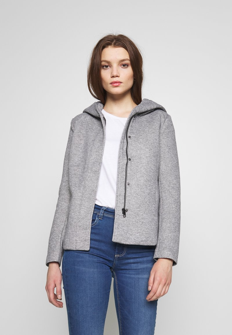 ONLY - ONLSEDONA LIGHT SHORT JACKET - Leichte Jacke - light grey melange