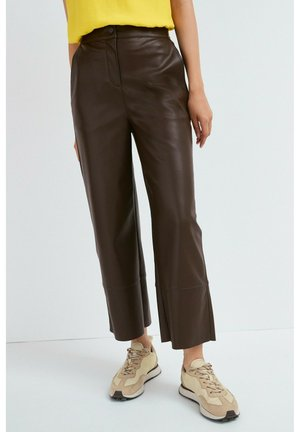 Trousers - dark brown