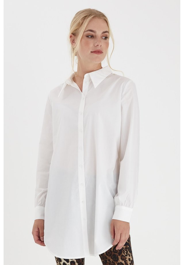 Button-down blouse - antique