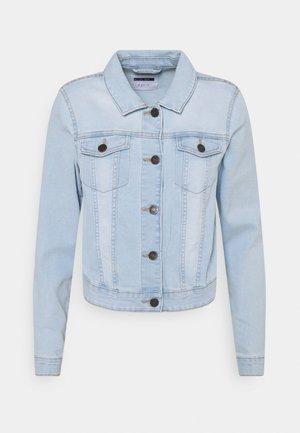 NMDEBRA JACKET - Jeansjakke - light blue denim