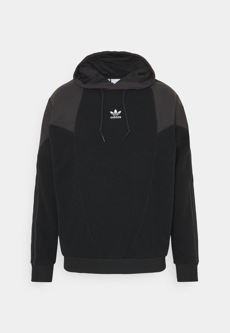adidas Originals - MIX HOOD - Jersey con capucha - black