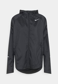 Nike Performance - RUN JACKET - Sports jacket - black/silver - 0