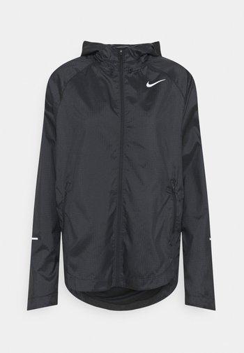 RUN JACKET - Sports jacket - black/silver