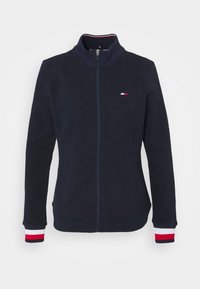 Tommy Hilfiger - SLIM GLOBAL ZIP UP - Veste de survêtement - blue - 4