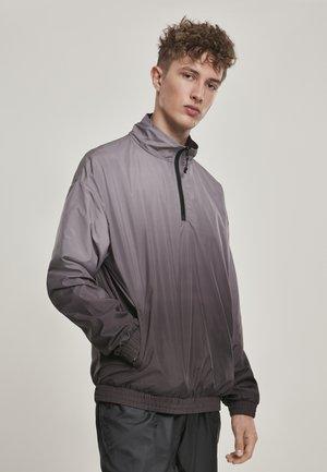GRADIENT PULL OVER JACKET - Training jacket - black/grey
