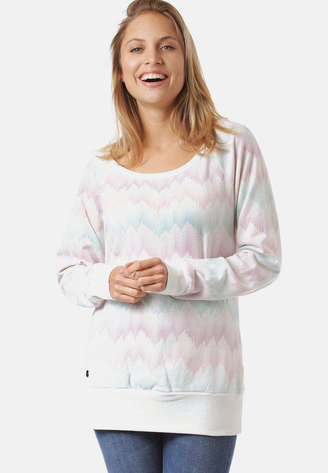 IRMA - Sweater - offwhite / zig zag