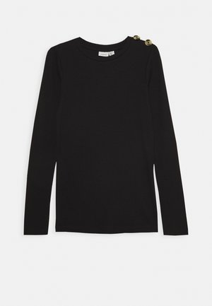 NKFDRINE SLIM - Long sleeved top - black