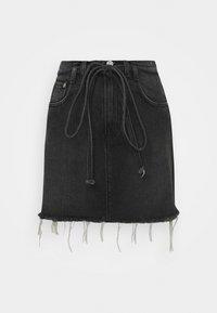 Pepe Jeans - RACHEL SKIRT BELT - Mini skirts  - denim - 0