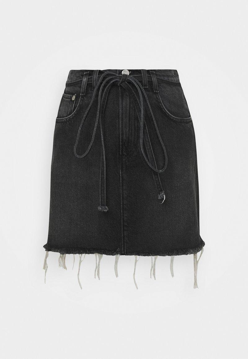 Pepe Jeans - RACHEL SKIRT BELT - Mini skirts  - denim