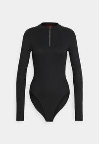 HUGO - NEXY - Long sleeved top - black - 6