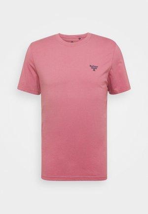 SMALL LOGO TEE - T-shirt - bas - maroon