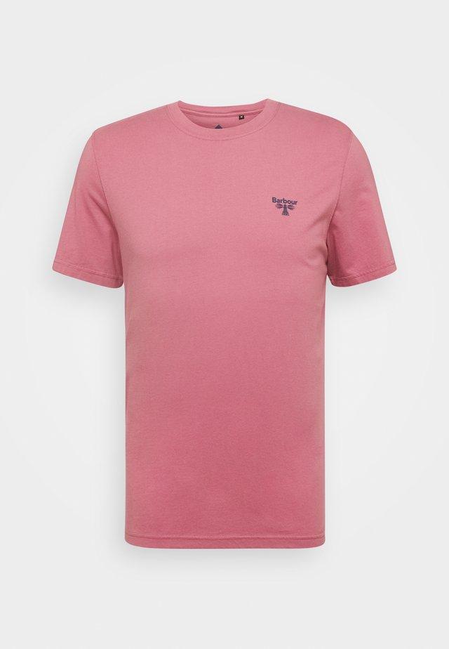 SMALL LOGO TEE - Basic T-shirt - maroon