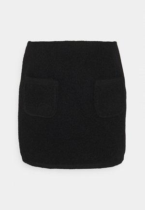 JAYDEN SKIRT - Mini skirt - black