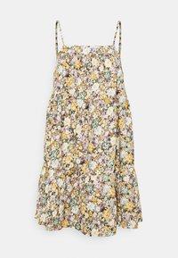 Object Petite - OBJJASIA SLIP DRESS PETIT - Korte jurk - sandshell - 0