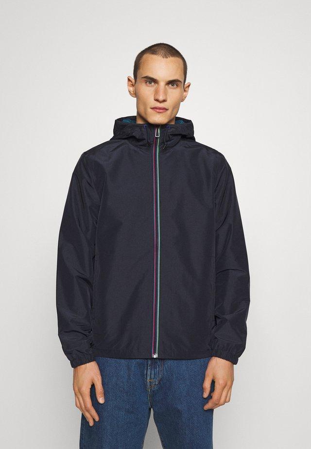 HOODED JACKET - Summer jacket - dark blue