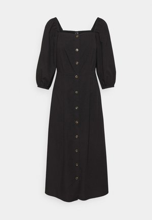 VMKARINA SQUARE DRESS  - Shirt dress - black
