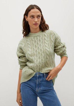 MANATI - Pullover - pastelgroen