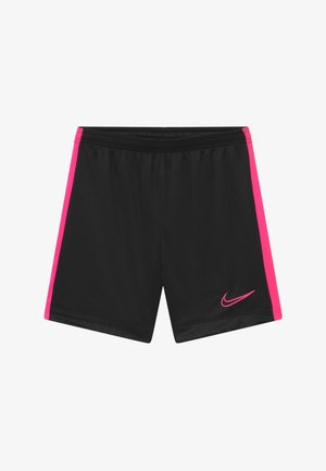 DRY ACADEMY SHORT - Sports shorts - black/hyper pink