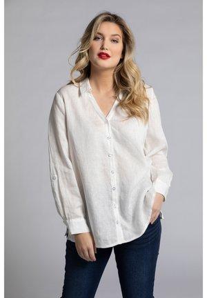 Leinen - Button-down blouse - offwhite