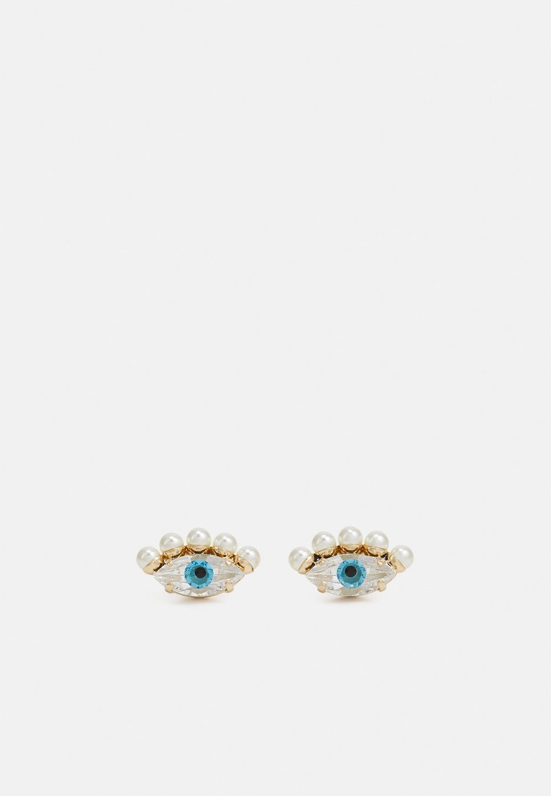 Anton Heunis - POST TINY EYES - Oorbellen - cream/blue