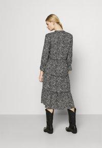 Vero Moda - VMFELICITY 7/8 CALF DRESS  - Day dress - black - 2