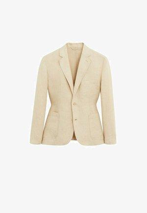 Blazer jacket - sandfarben