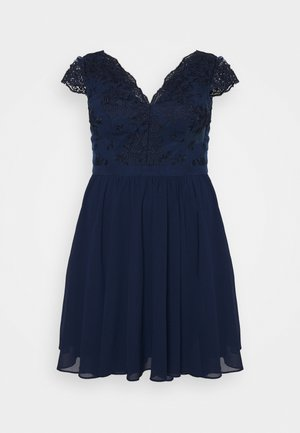 JOHANNA DRESS - Cocktail dress / Party dress - navy