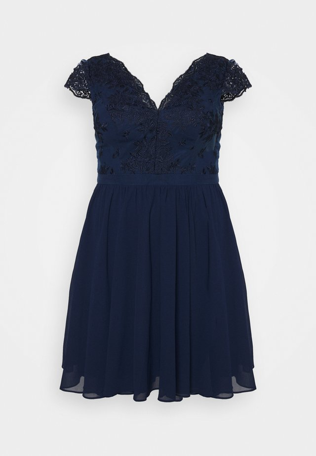 JOHANNA DRESS - Vestito elegante - navy