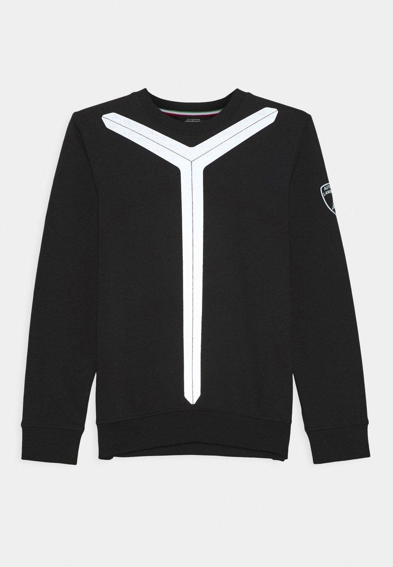 Automobili Lamborghini Kidswear - REFLECTIVE Y - Sweatshirt - black pegaso