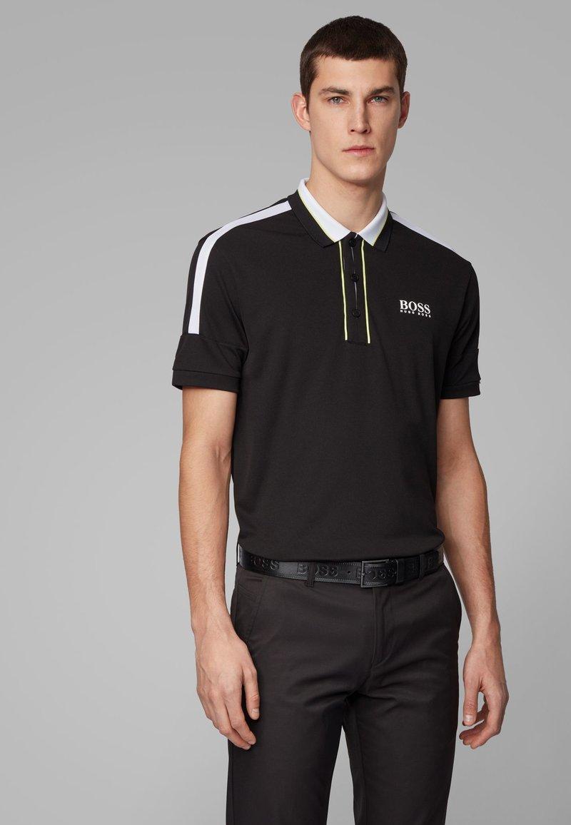 BOSS - PADDY MK - Polo shirt - black