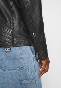 Freaky Nation - CRUISE ACTION - Leather jacket - black - 4