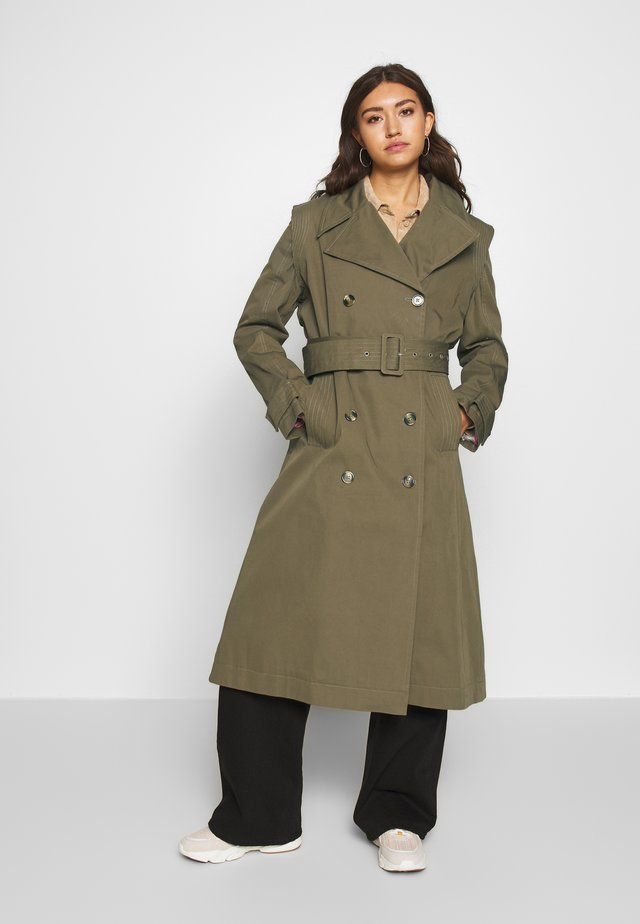 ENARTSY JACKET - Trench - capers