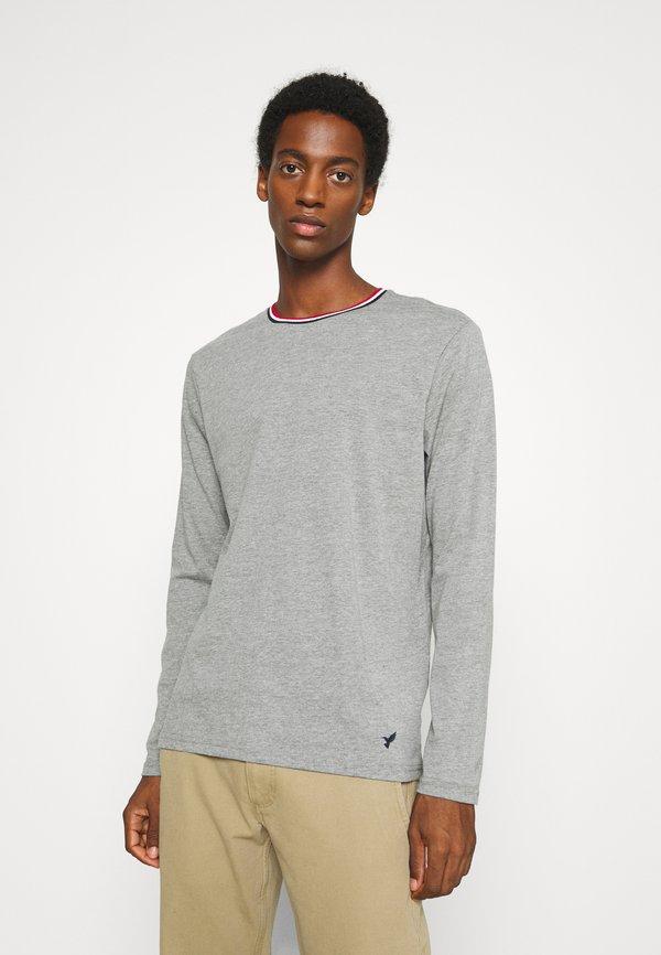 Pier One Bluzka z długim rękawem - mottled grey/szary melanż Odzież Męska TMJU