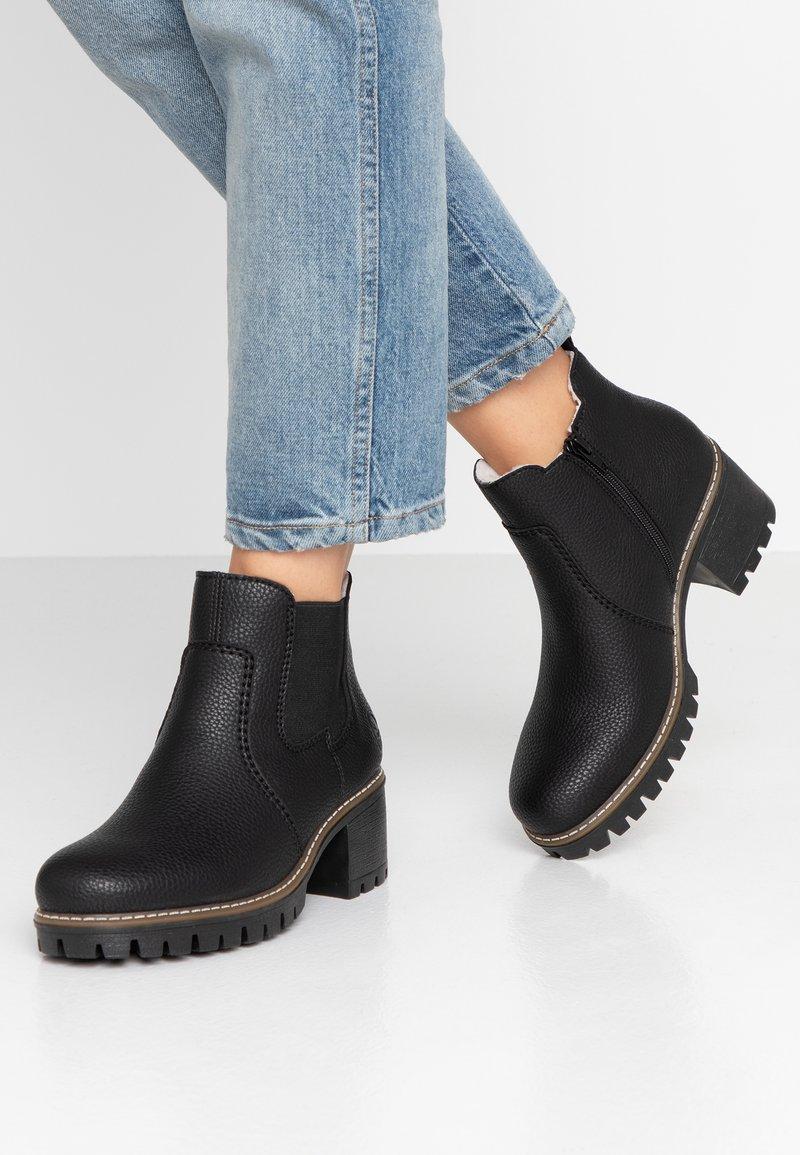 Rieker - Ankle boots - schwarz