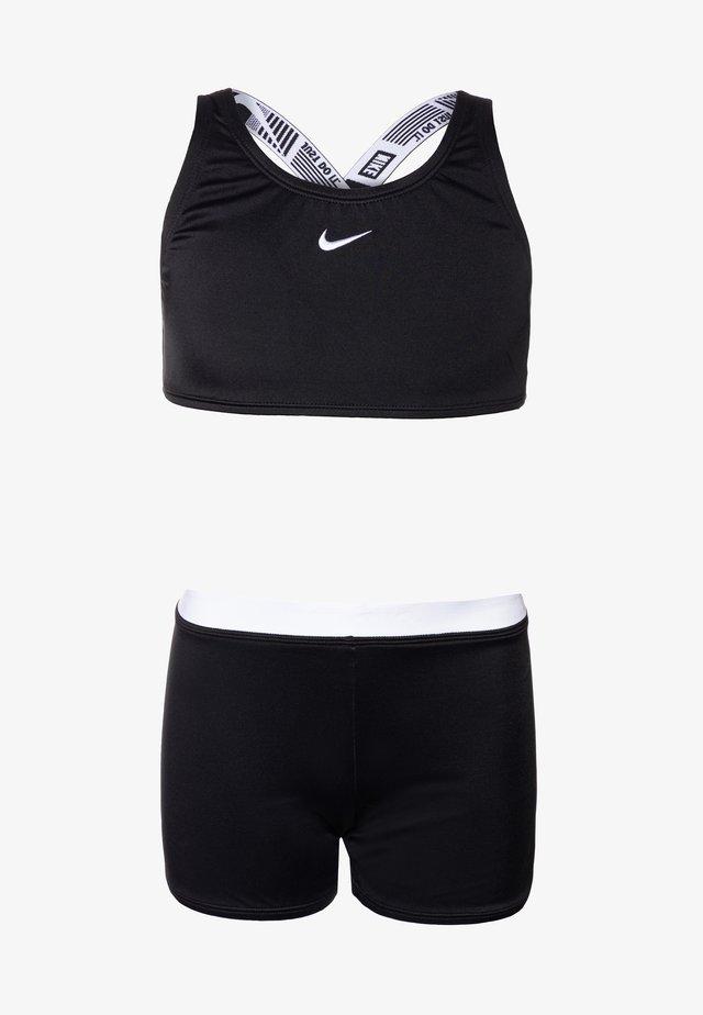 CROSSBACK SPORT SET - Bikini - black