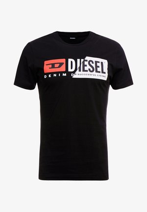 DIEGO CUTY - Camiseta estampada - black