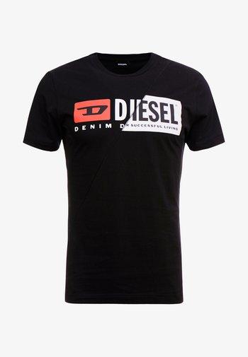 DIEGO CUTY - Print T-shirt - black