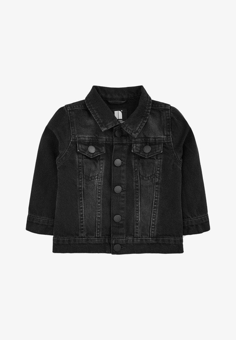 Next - Džínová bunda - black denim