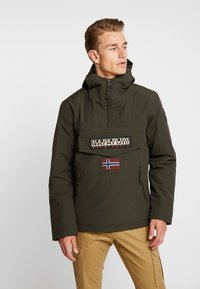 Napapijri - RAINFOREST POCKET  - Winter jacket - green forest - 0