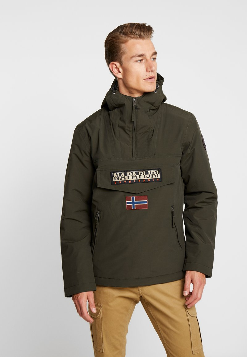 Napapijri - RAINFOREST POCKET  - Winter jacket - green forest